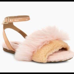 UGG Fluff Fest fur sandals
